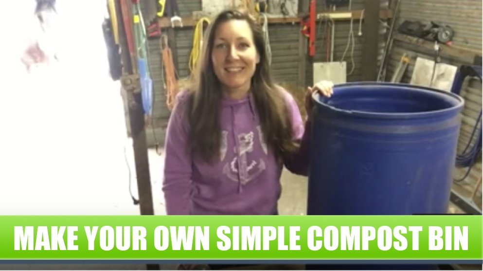 How to Make a Simple Home Compost Bin for your Kitchen Scraps
