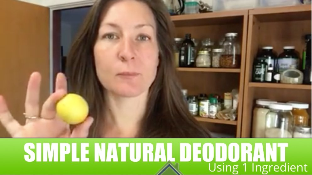 Simple Lemon Deodorant
